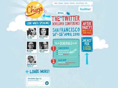 Chirp » The Official Twitter Developer Conference
