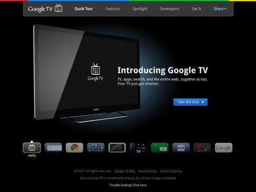 「Google TV」公式サイトがリニューアル