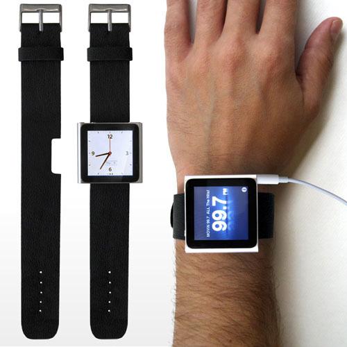 第6世代iPod nanoを腕時計に「Rock Band」