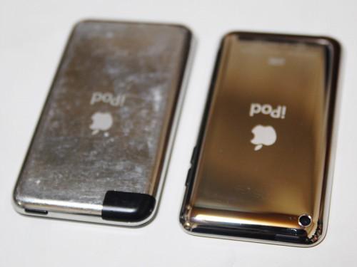 初代iPod Touchと新型iPod Touch