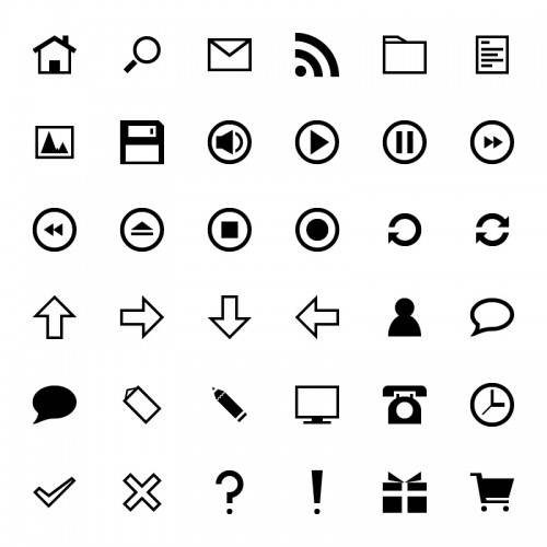 36 Free Simple Icons