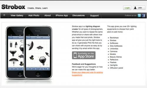 Strobox iPhone app